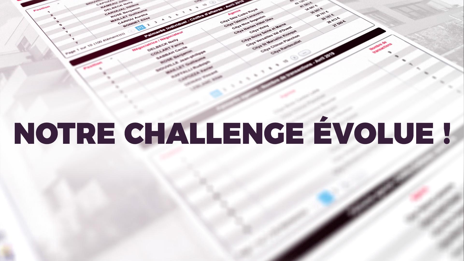 MyCitya - Notre challenge évolue !