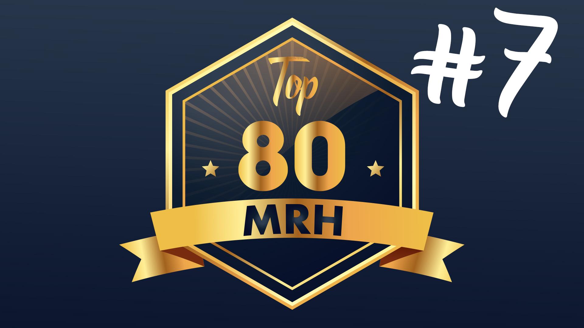 Top 80 MRH - Quel est le classement du septième Top MRH ?