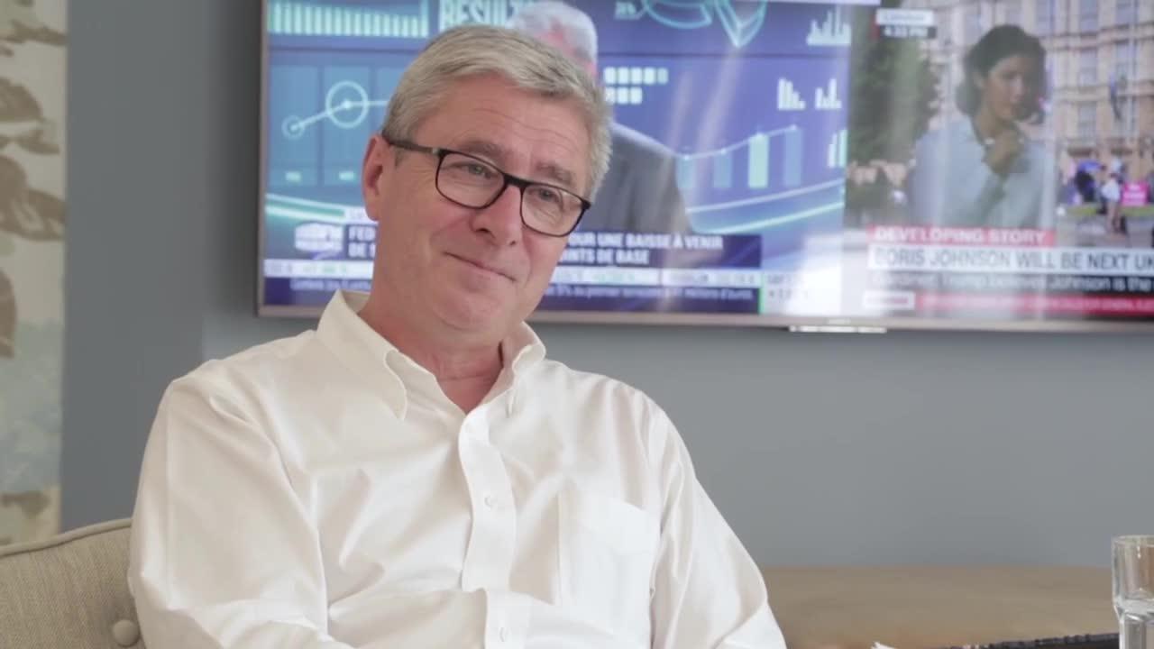 Arche - Interview de Philippe Briand pour le journal de l'Agence