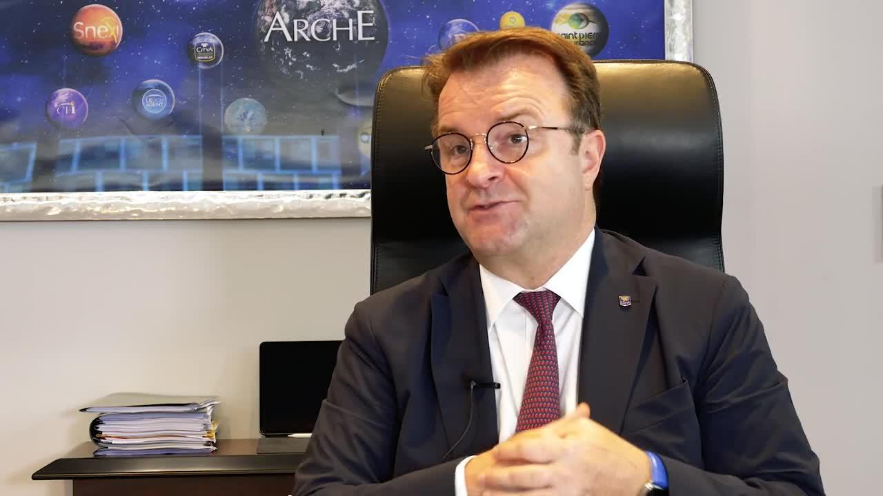 Arche - Interview de Frédéric Chaminade